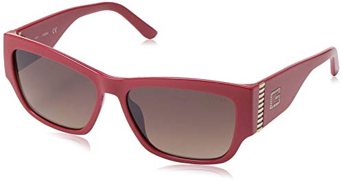 GUESS GU7623 Shiny Red/Gradient Brown One Size