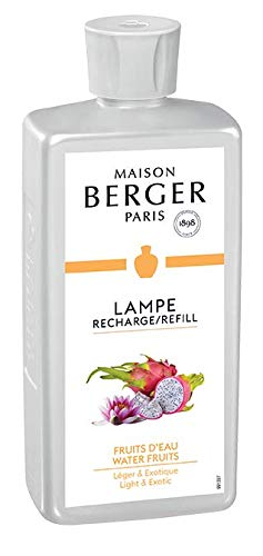 Lampe Berger Fruits d'eau Parfum d'ambiance Plastique Transparent 7,5 x 4,5 x 19 cm