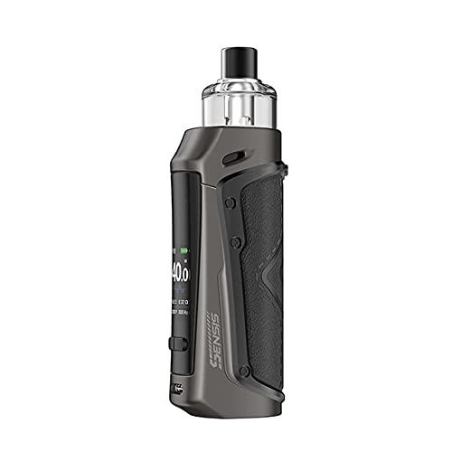Original Innokin Sensis Pod Mod Kit 40W Vape 3000mAh Batería 3.1ml Cartucho con 0.65ohm Sceptre MTL Coil E Vaporizador de cigarrillos (Black)