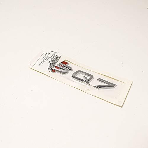 Audi originales s4 b9 8w en letras calandra Exterieur emblema logotipo cromo OEM