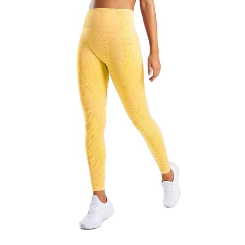 QTJY Pantalones de Yoga para Mujer, Pantalones Deportivos de Cintura Alta Push Up, Mallas de Entrenamiento para Correr, Fitness, Deportes, Pantalones de Control de Barriga JL