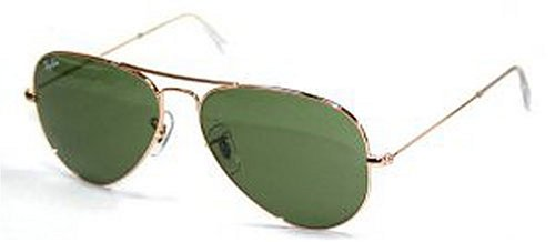 Ray-Ban - Aviator Large Metal, Occhiali da sole da uomo, w3281: arista gold, 55 mm
