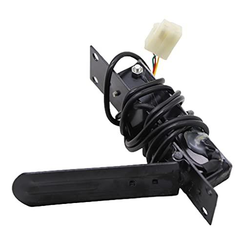 AniYY Pedale a gas antiscivolo, 24 V, pedale elettrico di velocità per controllo della velocità, per guida sicura