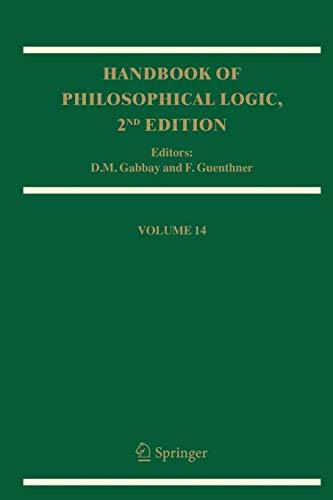 Handbook of Philosophical Logic: Volume 14