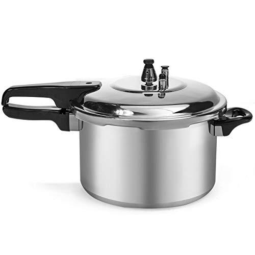 New 6-Quart Aluminum Pressure Cooker Fast Cooker Cookware Kitchen Large Capacity-Pressure cook-Best pressure cooker-Presuure cookers-Cook pressure cooker