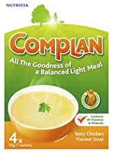 Complan Chicken Flavour Nutritional Drink 4 x 55g Pack x 4 Estimated Price : £ 17,97