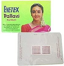 Eyetex Pallavi Sticker Kumkum 3 in 1 Maroon 15 Pieces (Size-P9M) Per Piece Contains 108 Spots (Total 108 Spots X 15 = 1620 Spots)