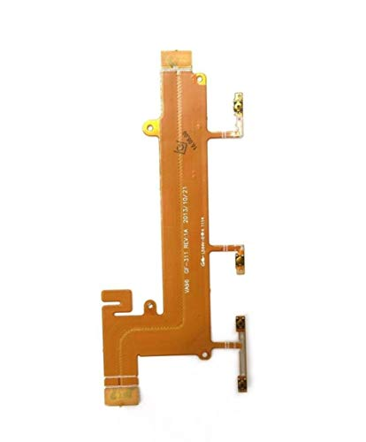 Shinzo Power Switch On Off Volume Key Button Flex Cable Compatible for Nokia Lumia 1320-Multicolored
