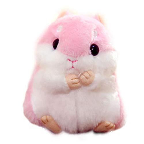 Angoter Netter Hamster Plüsch-schlüsselanhänger Plüschtiere Schlüsselanhänger Charme-handtaschen-anhänger Geburtstags-Geschenk