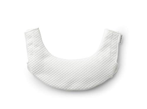 BABYBJÖRN Bib for Baby Carrie One, White