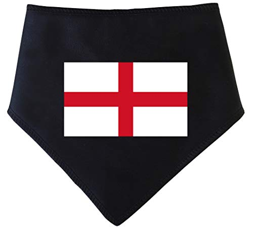 Spoilt Rotten Huisdieren, S3 Engeland Vlag St George's Cross Dog Bandana - Engeland Aanhangers Hond Kostuum Fancy Dress Geschikt voor Golden Retrievers, Dalmatiërs, Labrador & Staffie Sized Honden