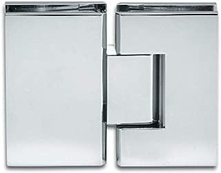 Bisagras de cristal para mampara de ducha, bisagra de cristal Bilbao de 180°, accesorios de cristal de calidad