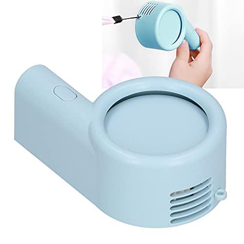 CUEA Mini Ventilador de Mano portátil, Ventilador de Cuello portátil Diseño de Cuello Colgante Batería de Litio incorporada de 800 Ah Bajo Nivel de Ruido para Exteriores para Oficina