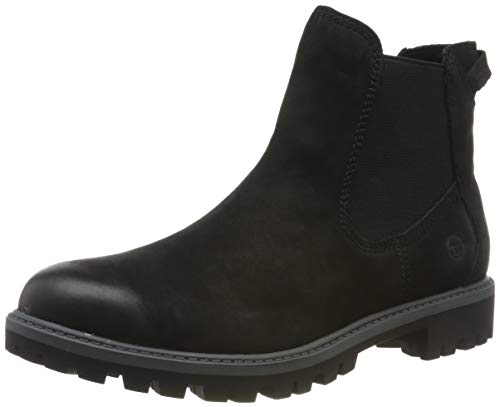 Tamaris Damen 1-1-25921-23 Chelsea Boots, Schwarz (Black Uni 7), 40 EU