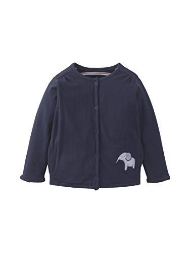 TOM TAILOR baby-meisjes gebreid vest sweatjacket solid