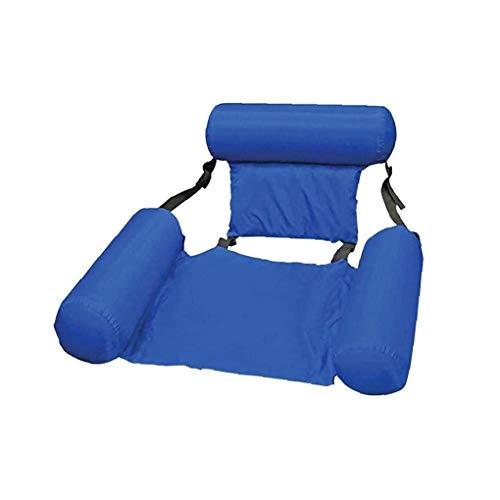 Deanyi Wasser Hammock Sommer Aufblasbarer Faltbare Schwimm Sofa, Stuhl, Pool Beach Float Lounger Chair Hängematte