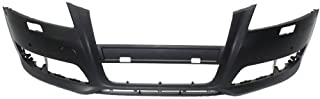 MAPM Front Car & Truck Bumpers & Parts Plastic Primed With headlight washer holes AU1000201 FOR 2009-2013 Audi A3