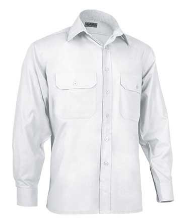 Tucuman Aventura Chemise à manches longues pour homme, blanc, 38