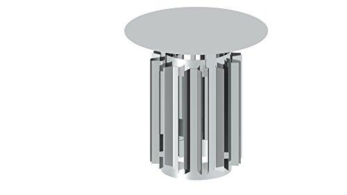 Schornsteinaufsatz - Windabweiserdüse / Schlitzhaube für einwandige Schornsteine, 300mm Durchmesser, Edelstahl