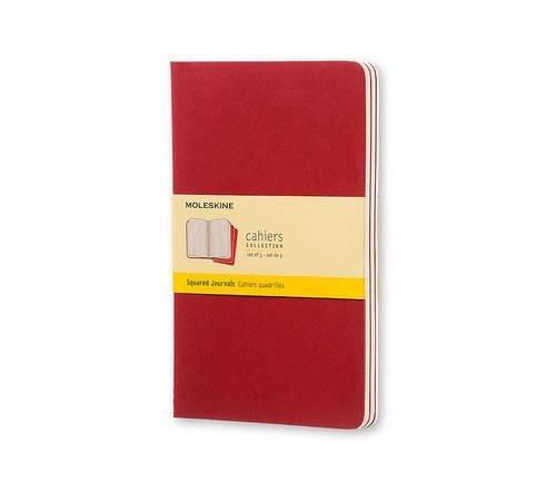 Moleskine Cahier - Set de 3 cuadernos cuadriculados grandes
