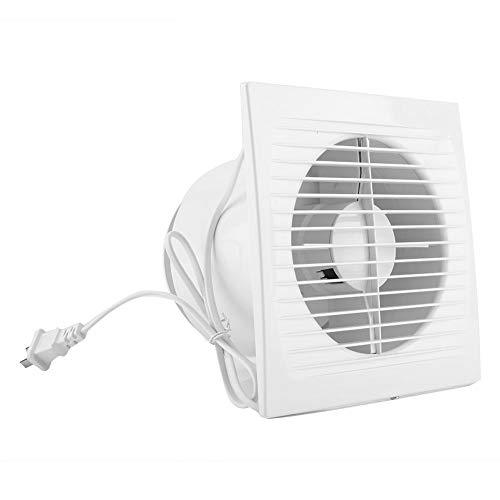 Badkamerventilator 40 W 220 V thuis keukenkast afzuigkap badkamer wc ventilator plafond muur montage ventilatie afzuiginstallatie