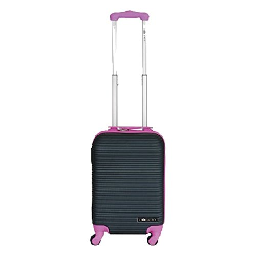 Leonardo Handbagage koffer duo-tone zilver / groen (DSS-DS40934)