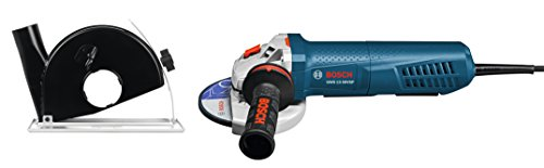 Bosch 5 In. Variable-Speed Angle Grinder with Paddle Switch and...