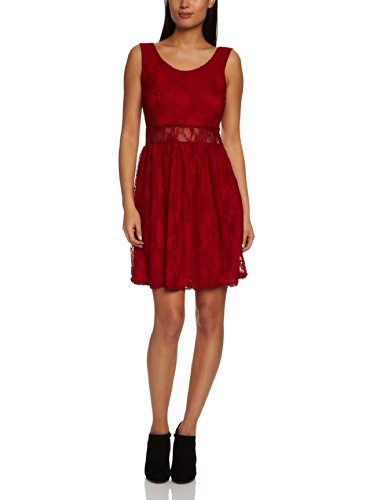 Rare London Damen Kleider/ Sportlich Schlauch - Rot - Berry - 6 (Herstellergröße : Size 6)