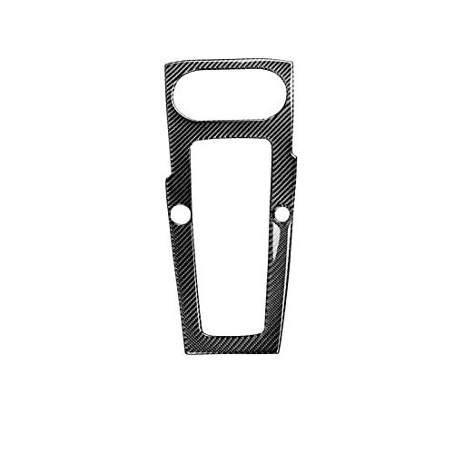 Accesorio para Automóvil Control Fibra Carbono Posición Cambio Cubierta Panel Marcha Alta con Ajuste Inicio Un Botón Dos Orificios para Audi. para A3 para S3 2014-2018 (Color : RHD)
