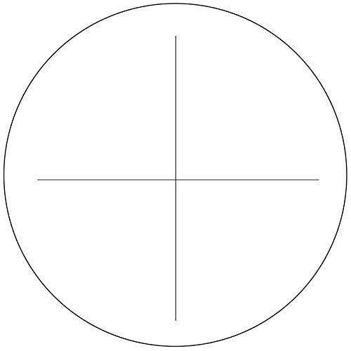 BoliOptics Microscope Eyepiece Reticle Cross Line Scale Dia. 18mm RT20102111