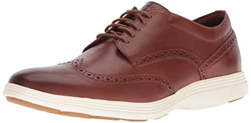 Cole Haan Men's Grand Tour Wing Oxford, Woodbury-Ivory, 11