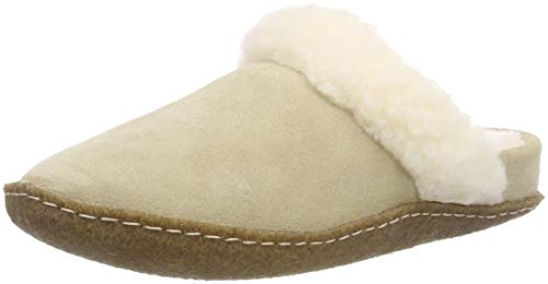 Sorel Damen Nakiska Slide Ii Hausschuhe, Beige (British Tan/Natural), 40 EU
