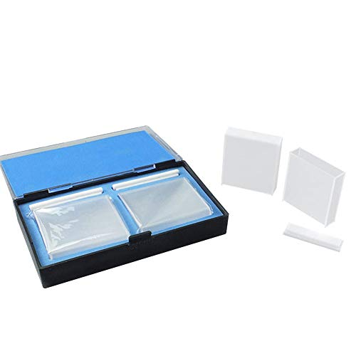 Tansoole 1.7ml 5mm Küvette Spektrometer-Zelle Quarz Spektrometer Optische Spektrophotometer, 7.5×12.5×45