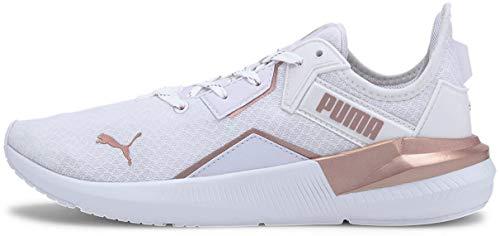PUMA Platinum, Cross Trainer Mujer, White Rose Gold, 42 EU