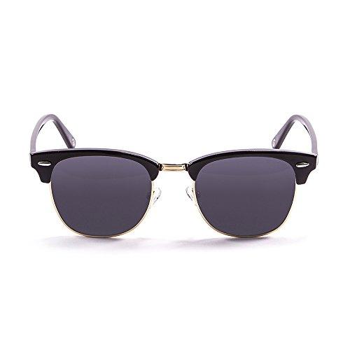 Ocean Sunglasses - Mr.Bratt - lunettes de soleil polarisées - Monture : Noir Laqué - Verres : Fumée (70000.1)