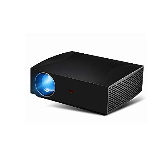 Projeatione Mini Beamer, HDMI-interface, set-topbox, led-lichtbron, 2 x 5 W dubbele luidspreker, resolutie 1920 x 1080