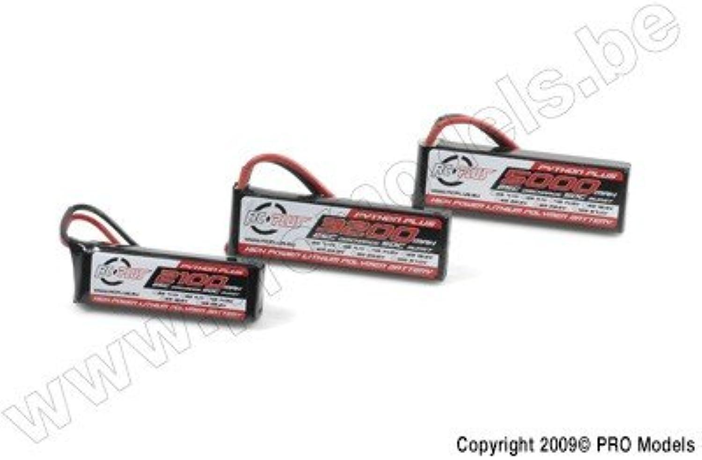 Li-Po Akku - Python X-Treme 55C - 2500 mAh - 6S1P - 22,2V - Deans Stecker