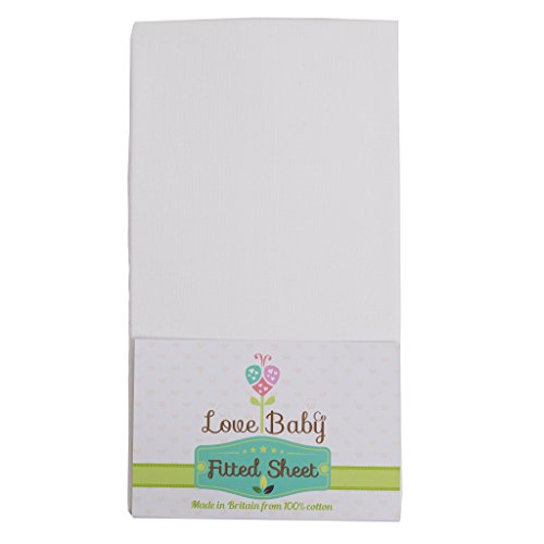 Premium Soft White Cotton cot Sheet Made to fit The Babylo Cozi Sleeper