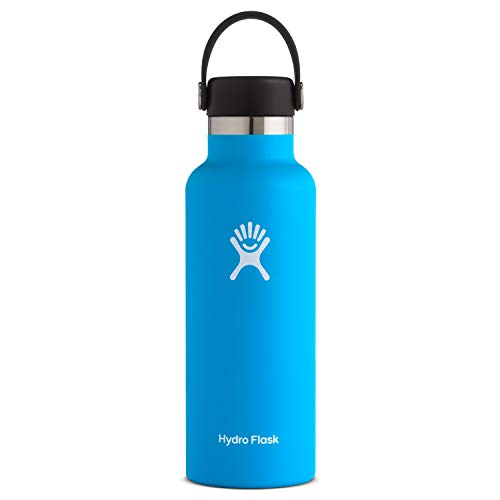 Hydro Flask Standard Mouth Water Bottle, Flex Cap - 24 oz, Pacific