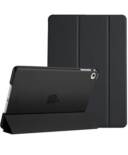 Procase iPad Mini 4 Case - Ultra Slim Lightweight Stand Case with Translucent Frosted Back Smart Cover for 2015 Apple iPad Mini 4 (4th Generation iPad Mini, mini4) –Black
