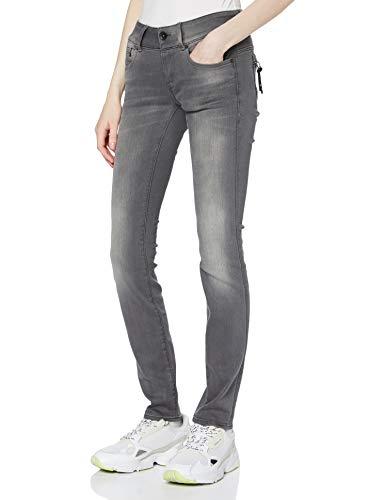 G-STAR RAW Damen Jeans Midge Cody Mid Waist Skinny, Blau (Medium Aged 6131-071), 25W / 30L