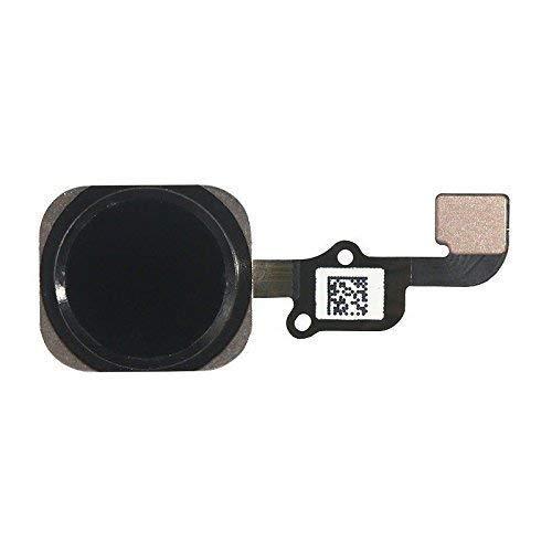 Sostituzione pulsante Home Tasto Home per iPhone 6s/6s plus Nero con cavo Flex incluso