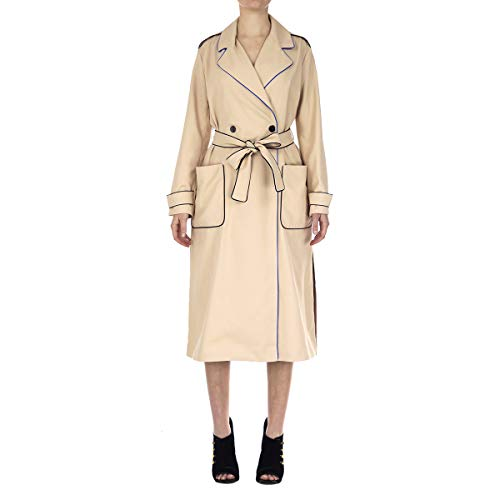 Armani Exchange A|X Damen Outline Trench Coat Trenchcoat, Beige Rose, Mittel
