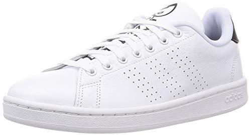 adidas Advantage, Zapatillas de Tenis Hombre, FTWBLA/FTWBLA/NEGBÁS, 42 2/3 EU