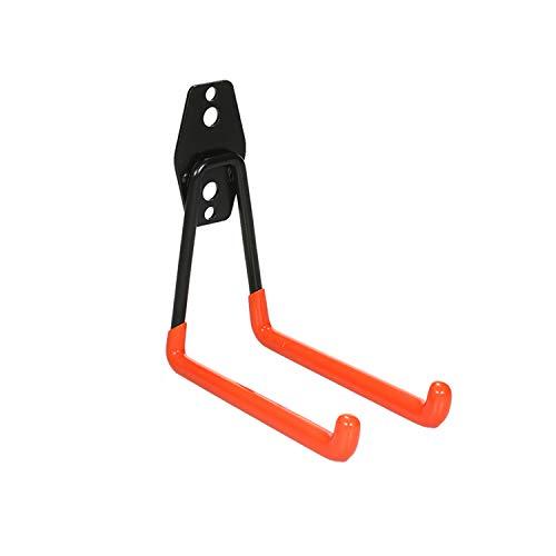 KKmoon Universalhaken Haken Gerätehaken Wandhaken Schwerlast Haken Doppelhaken für Wandmontage Elektrowerkzeuge Leitern Schüttgut Fahrräder Seile