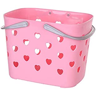 Storage Basket,TAOtTAO Basket for Storage Fashion Plastic for Bathroom Shower Basket (B):Dailyvideo