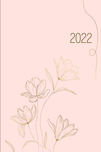 2022: Agenda settimanale 2022 con planner mensile | 161 pagine | Settimana su doppia pagina da lunedì a domenica