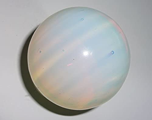 barato y de alta calidad 1pc 50mm Opalite Premium Large Crystal Healing Round Round Round Orb Gemstone Energy Sphere Balls by Sublime Gifts  nueva gama alta exclusiva
