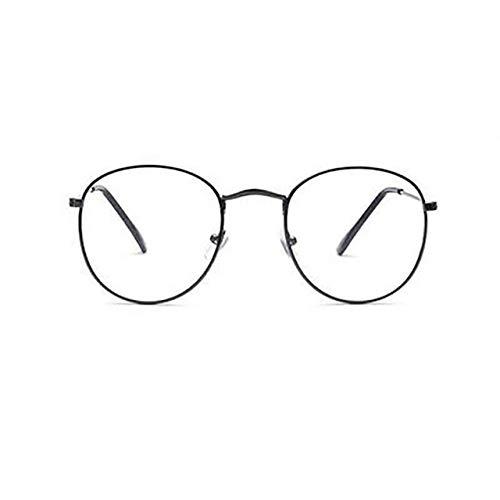 VIWIV Unisex Gold Classic Fashion brilmontuur metaal mannen vrouwen vintage klassieke stijl optische glazen om te lezen