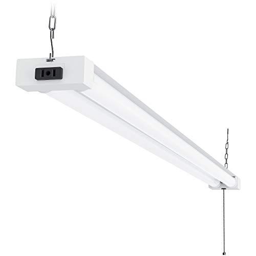 Sunco Lighting LED Utility Shop Light, 4 FT